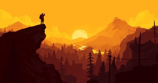 美国少年玩《看火人》有感 在现实中无私守护防火塔